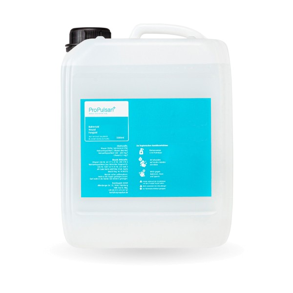 ProPulsan Handdesinfektionsmittel auf Wasserbasis, 5L, VAH