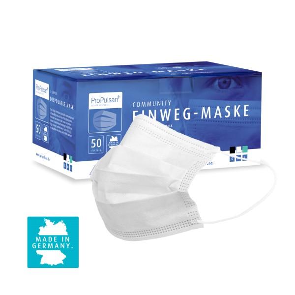 ProPulsan Community-Maske, 3-lagig, 'Made in Germany'